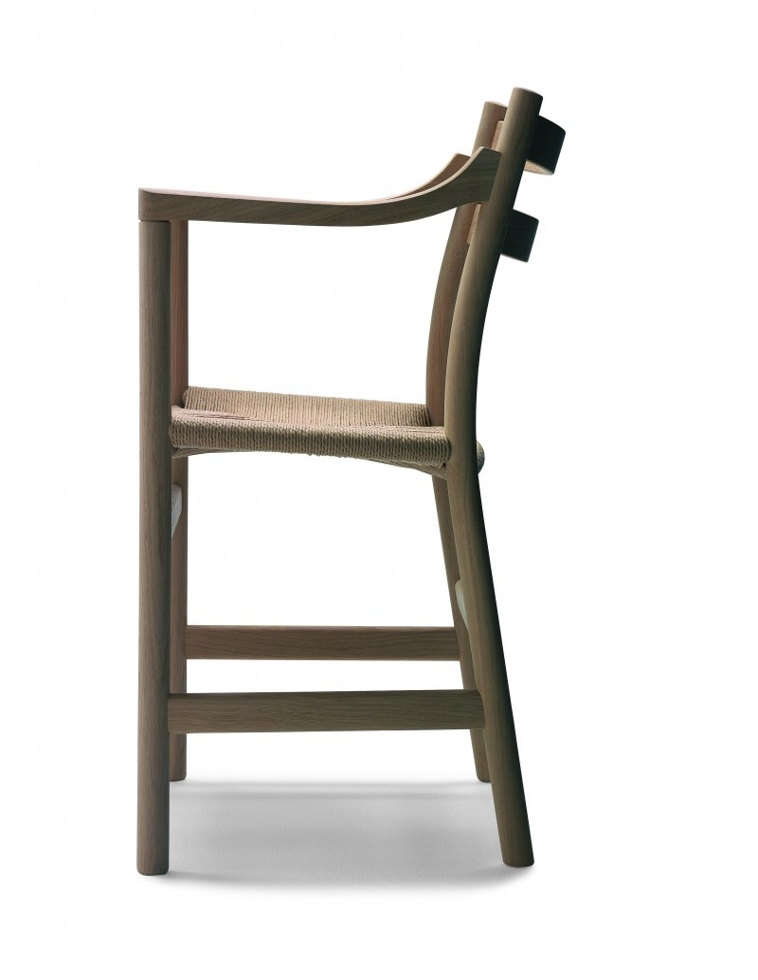 chaise bolling ch 46 ch 47 design hans j wegner pour. Black Bedroom Furniture Sets. Home Design Ideas