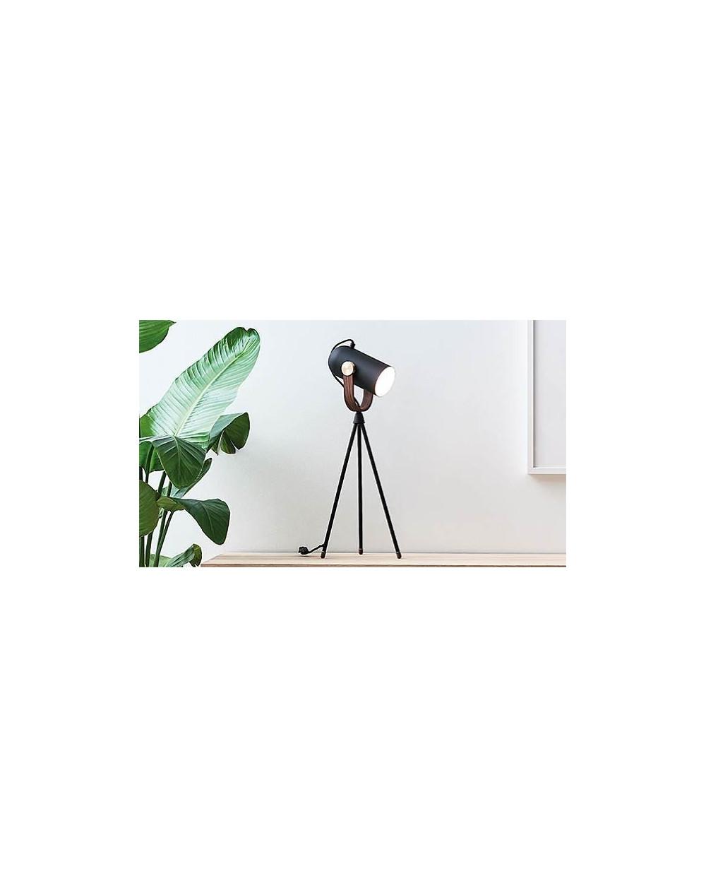 LAMPE DE TABLE CARRONADE