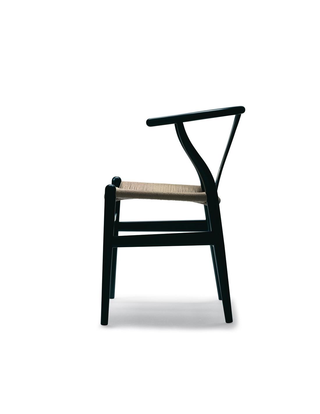 Chaise Ch24 Wishbone Design Hans Wegner Pour Carl Hansen La
